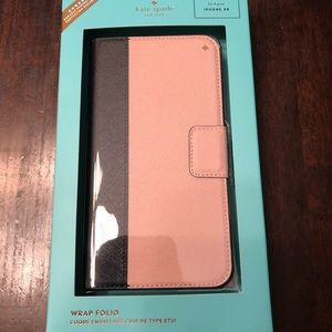 Kate Spade iPhone XR Folio Case